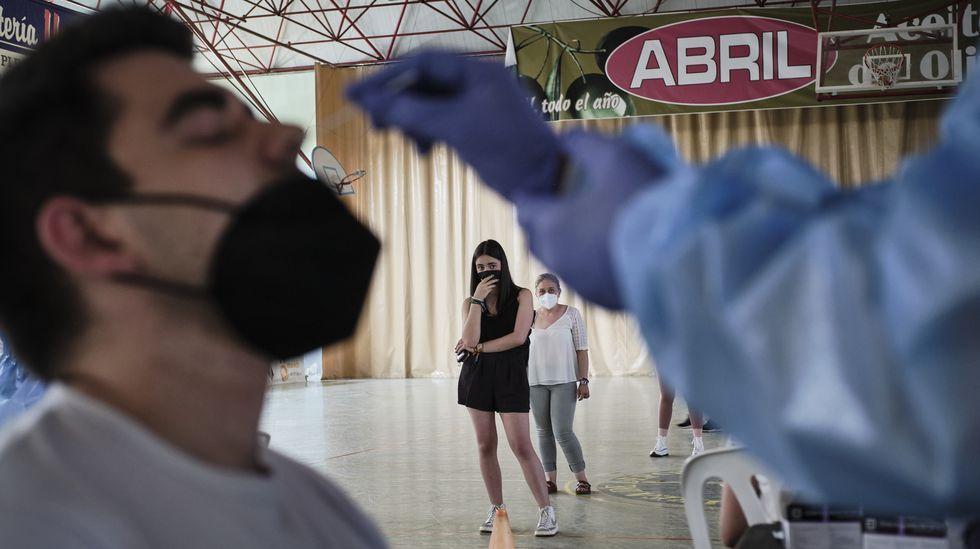 Inauguración de la exposición Recordoleterlorintorel /XXV Aniversario de Laxeiro. Fundación Laxeiro.Los cribados buscan detectar positivos asintomáticos