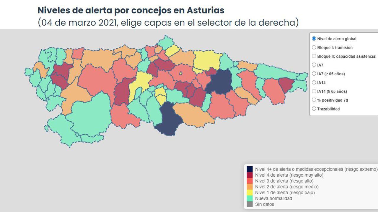 vacunacion asturias.Sanitarios del Hospital Universitario Central de Asturias (HUCA), en Oviedo, trabajando en una de las UCI del centro hospitalario