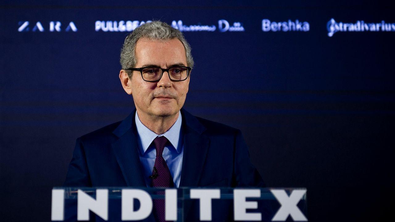 Inditex y la U.P. Comillas renuevan la Cátedra de Refugiados para ayudar a encontrar las mejores soluciones a personas desplazadas.Pablo Isla, presidente de Inditex, en una imagen de archivo