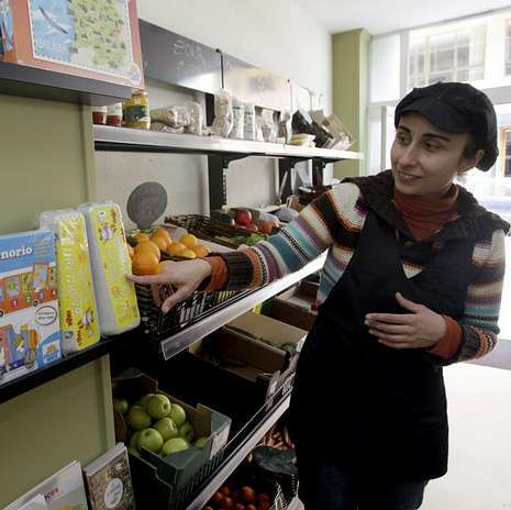 Rosana López concilia mellor agora a vida laboral e familiar.