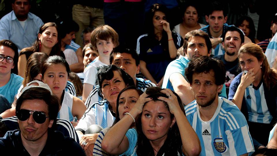 Mundial 2014: Las lágrimas de Argentina