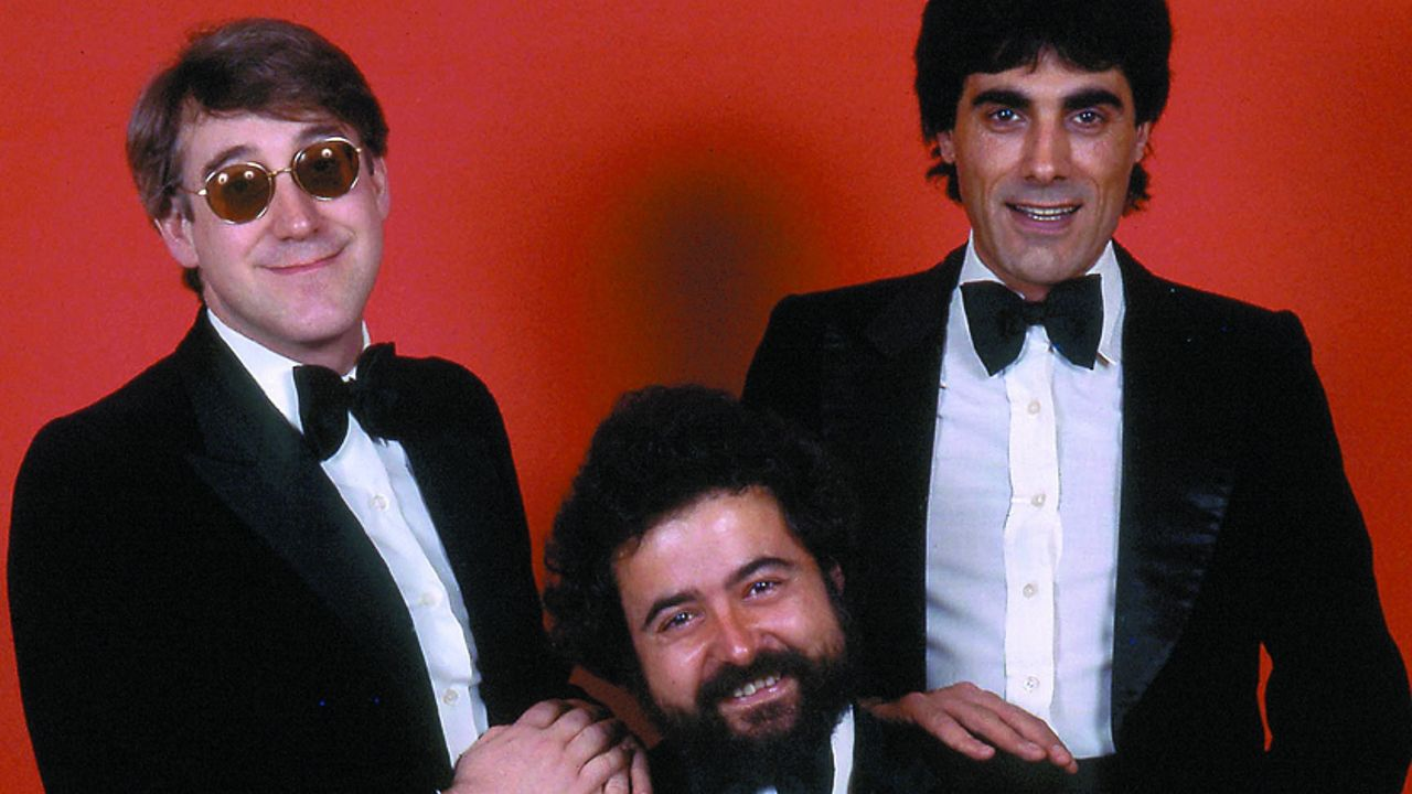 Josep María Mainat, a la izquierda, se hizo muy famoso en televisión con el grupo «La Trinca»