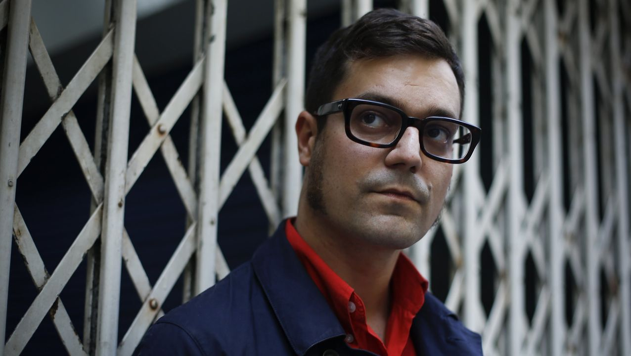 El escritor barcelonés de origen gallego Miqui Otero