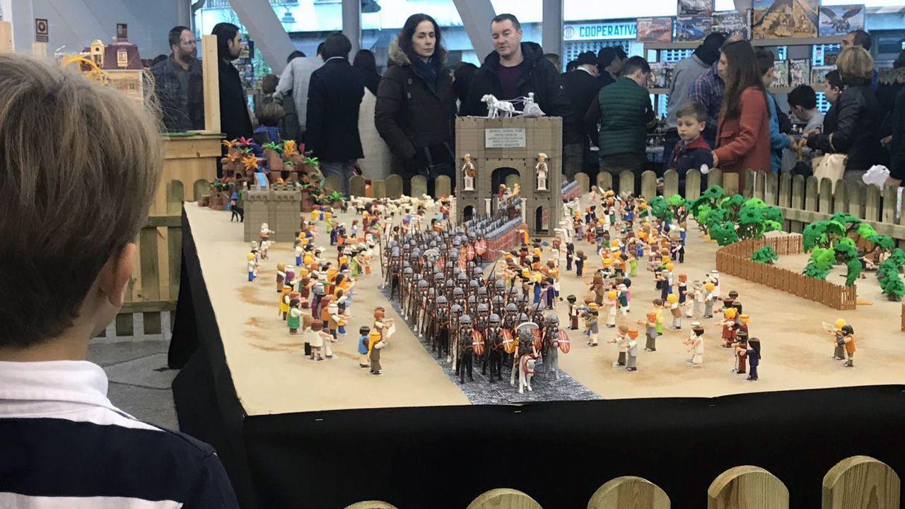 Mercado de Playmobil en Pola de Siero