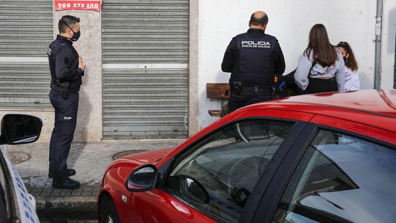 El rap asturiano contra la pandemia.Policía local de Gijón