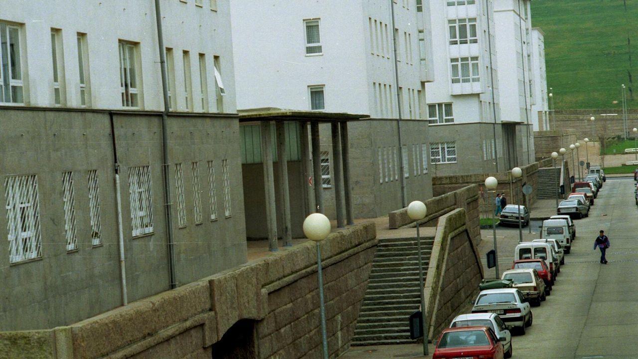 Así son los pisos que Cualedro alquila por 50 euros al mes.La acuicultura tiene un peso decisivo en la ocupación del polígono industrial de Cuíña
