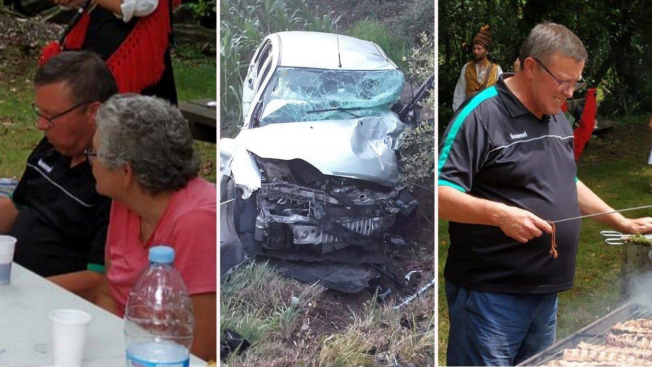 Las víctimas mortales del accidente de Outes