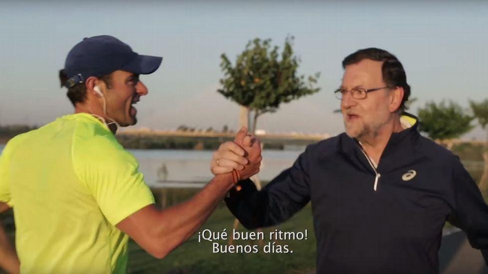 Rajoy,de marcha por Badajoz