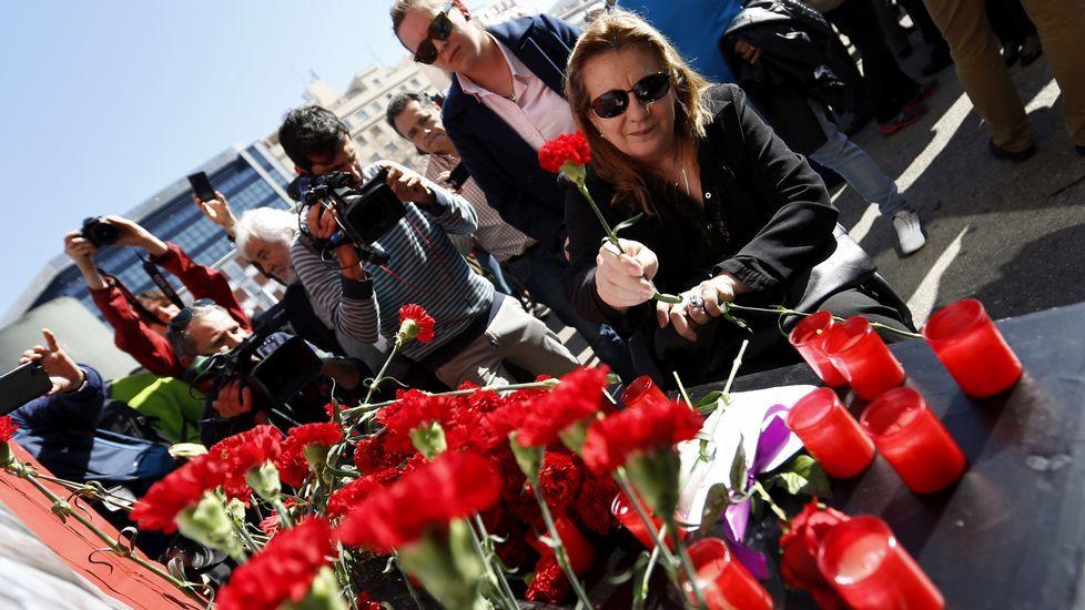 Madrid recuerda a las víctimas del 11M.Actos en memoria de las victimas del 11-M en Madrid