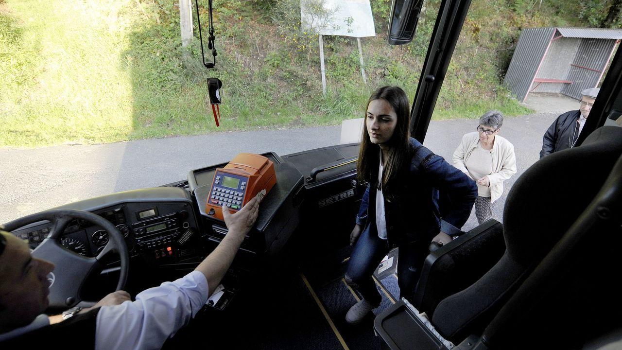 Un autobús escolar compartido
