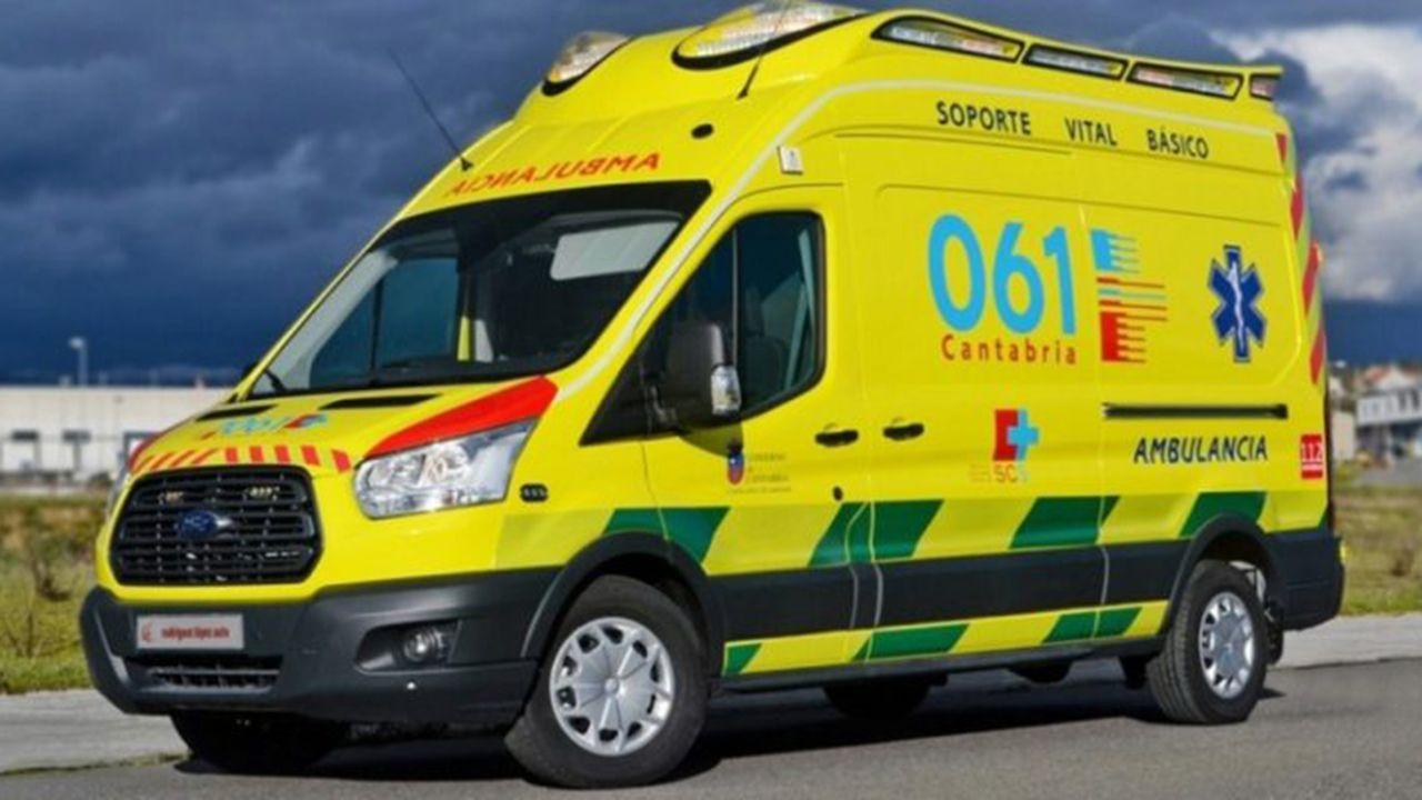 Una ambulancia de Cantabria