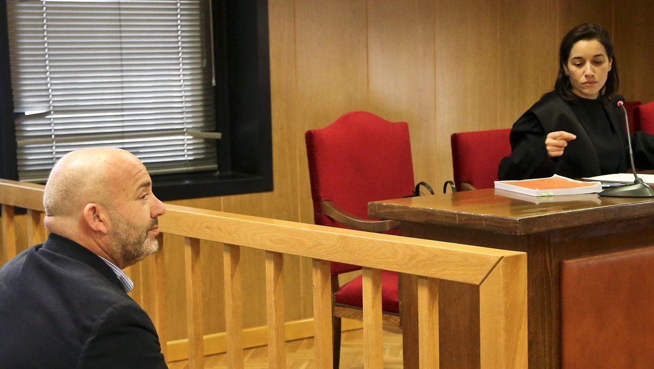 Ballesteros, durante el juicio que derivó en su última condena, de 26 meses de prisión