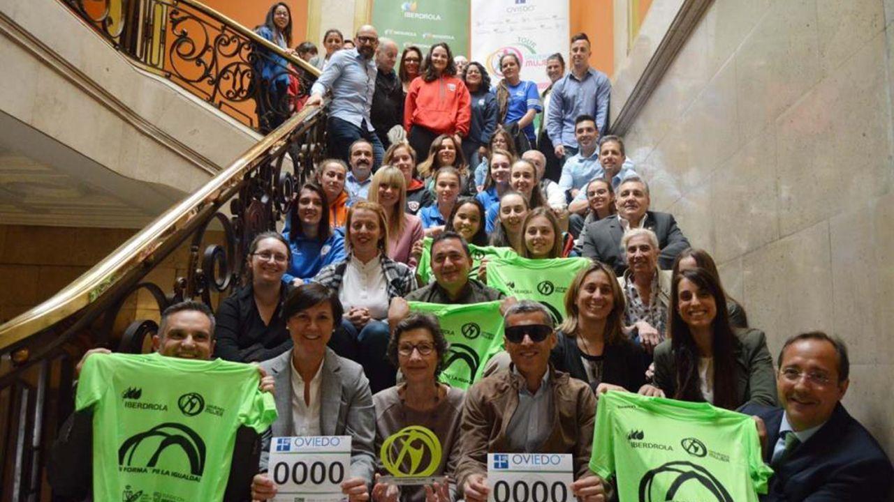 Ellos son las Medallas Castelao 2019. Presentación en Oviedo del Tour Universo Mujer