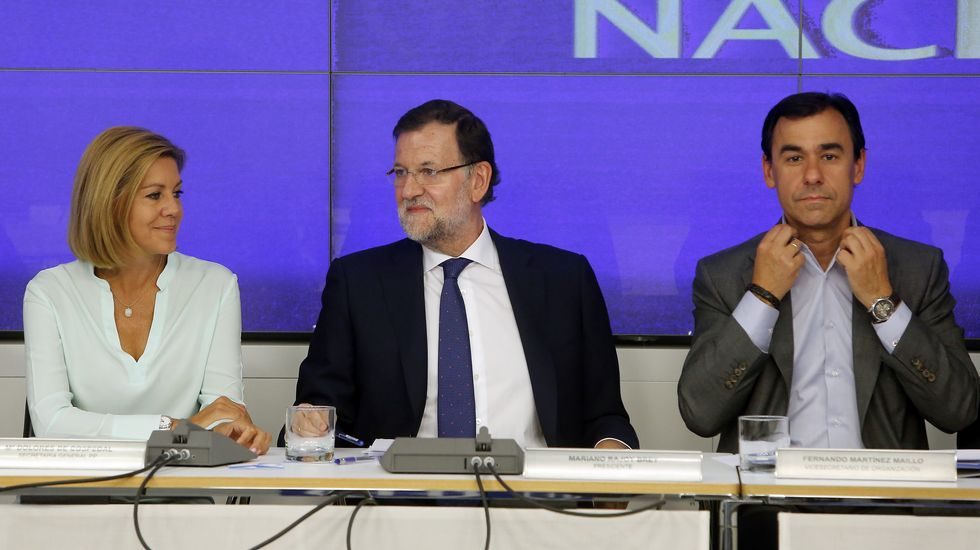 Rajoy: «Estoy dispuesto a escuchar, a hablar...»