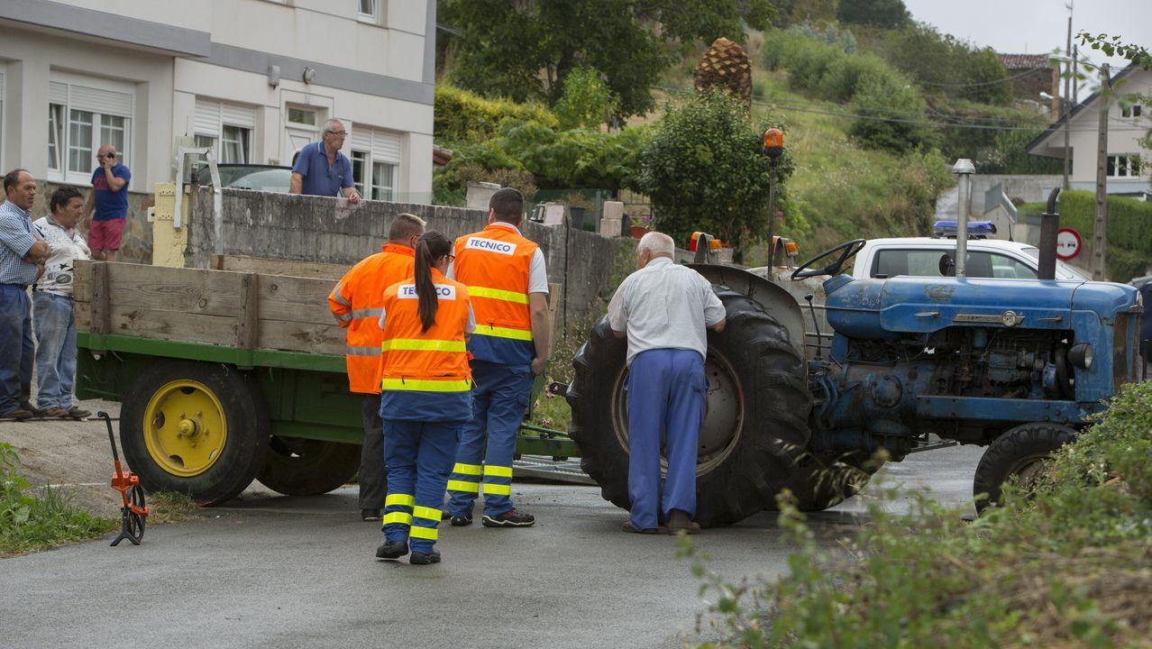 El último accidente mortal ocurrió este martes en Cabana de Bergantiños. Murió una mujer arrollada por su tractor