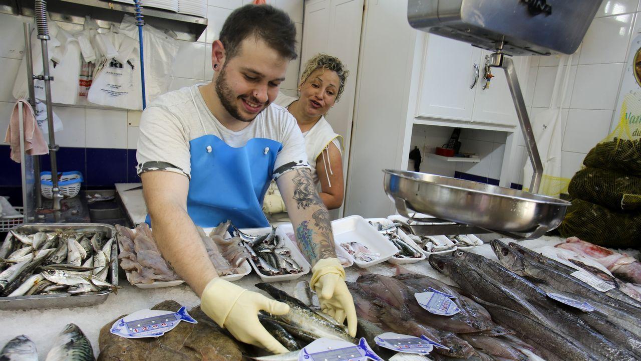 El Nordés amenaza con dejar escasa la despensa de sardina