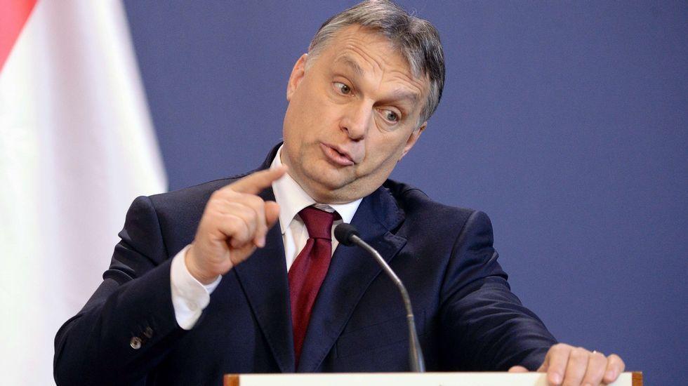 El mundovive nuevas rutinas: del ballet con mascarilla a los gimnasios con mamparas.Viktor Orban, primer ministro húngaro