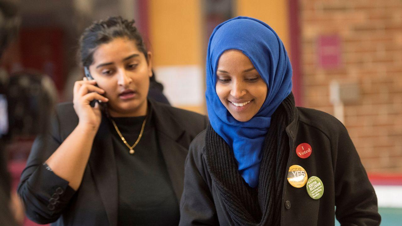 Ilhan Omar se postula a ser la primera somalí en el Congreso