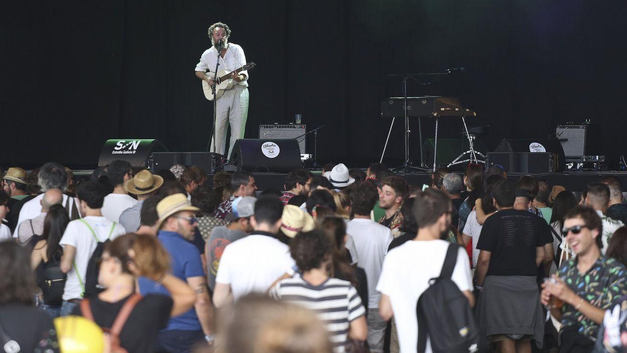 RODRIGO AMARANTE EN EL ATLANTIC FEST DEL AÑO PASADO