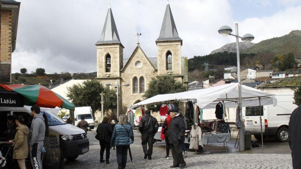 El suceso se produjo en la plaza de Fontei