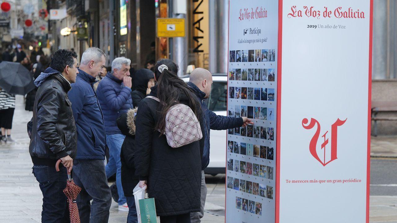Las imágenes de la suerte en A Coruña.David M.E., de 27 años, ha sido enviado a prisión