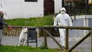Labores de desinfección en Grado