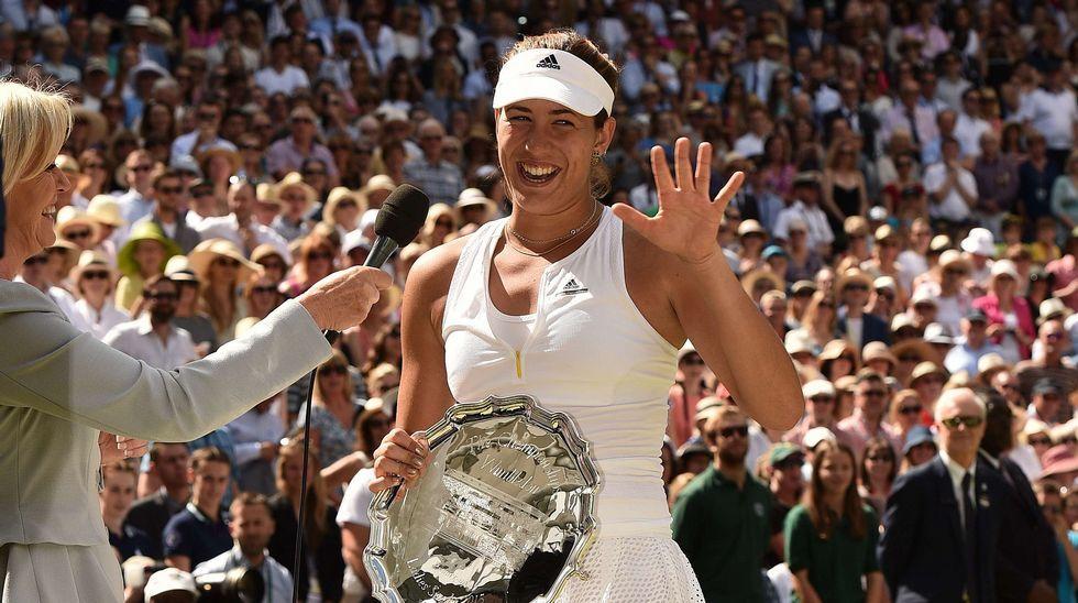La final femenina de Wimbledon, en fotos