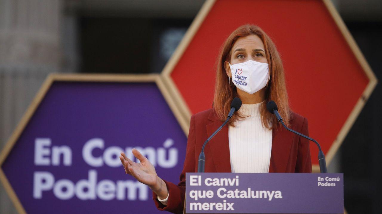 En directo: Protesta en Barcelona para pedir la puesta en libertad del rapero Pablo Hasel.El rapero, durante un juicio en la Audiencia Nacional