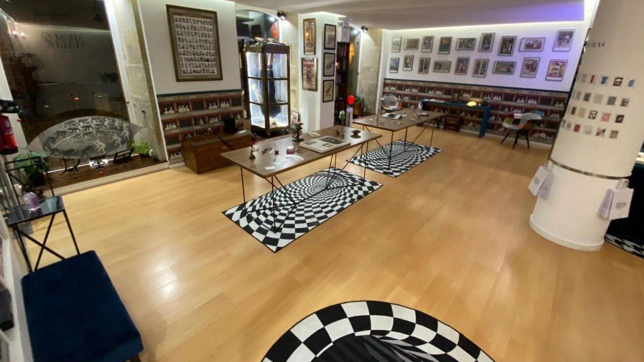 El museo tendrá una tienda en la que se podrán adquirir objetos que producen efectos mágicos