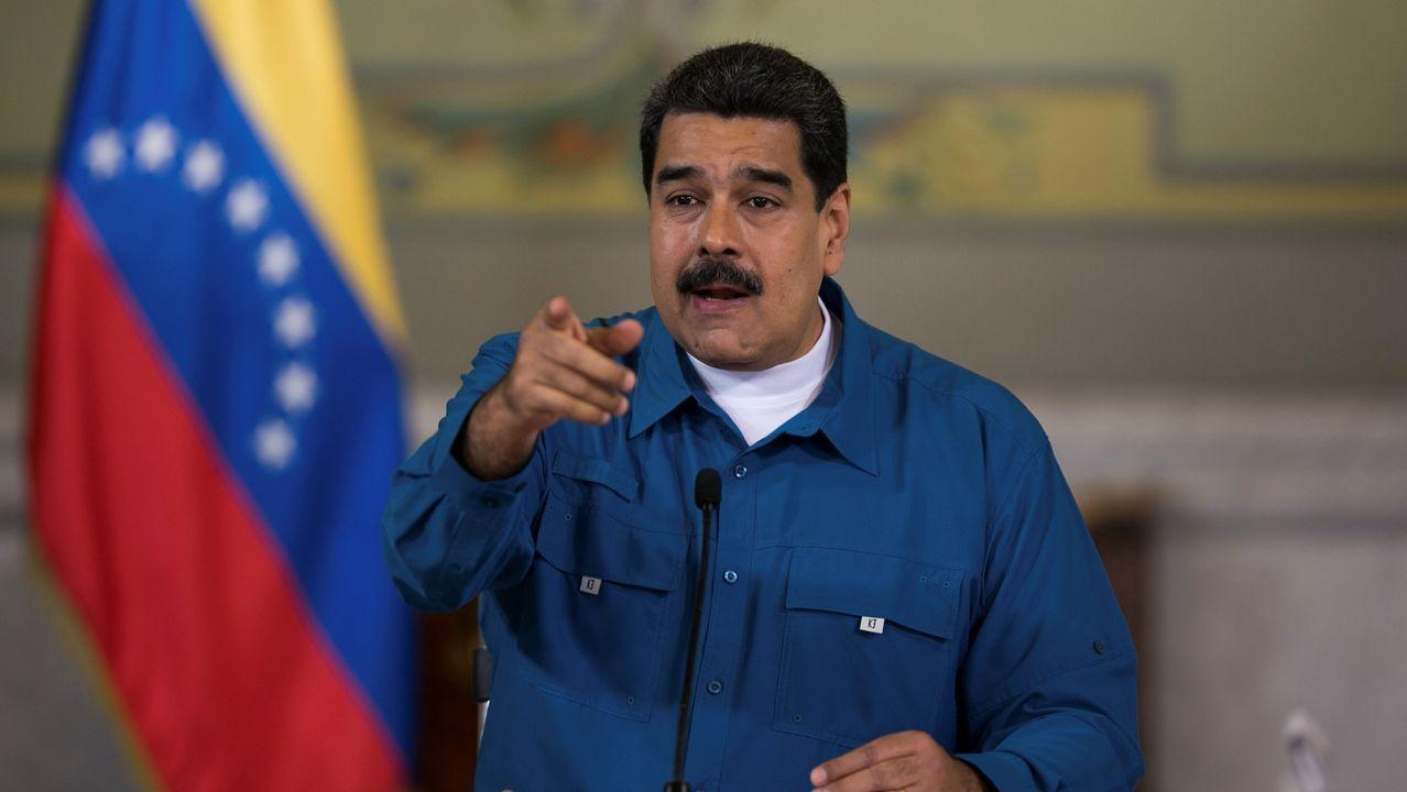 Trump contra todos en la cumbre del G7.Nicolás Maduro