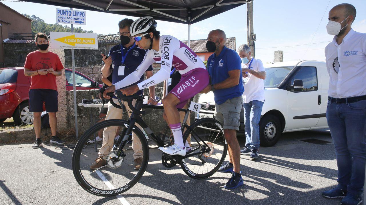 VIII Ruta do Albariño de ciclismo.