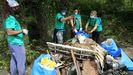 La jornada de limpieza de Coidemos Lugo, en imágenes