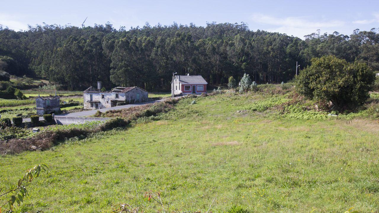 El Concello de Ponteceso ha calculado que hay unos 2.000 parcelas edificables vacías en el municipio