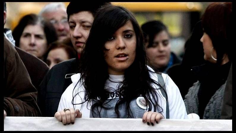 Marcha en Lugo en recuerdo de Marta del Castillo