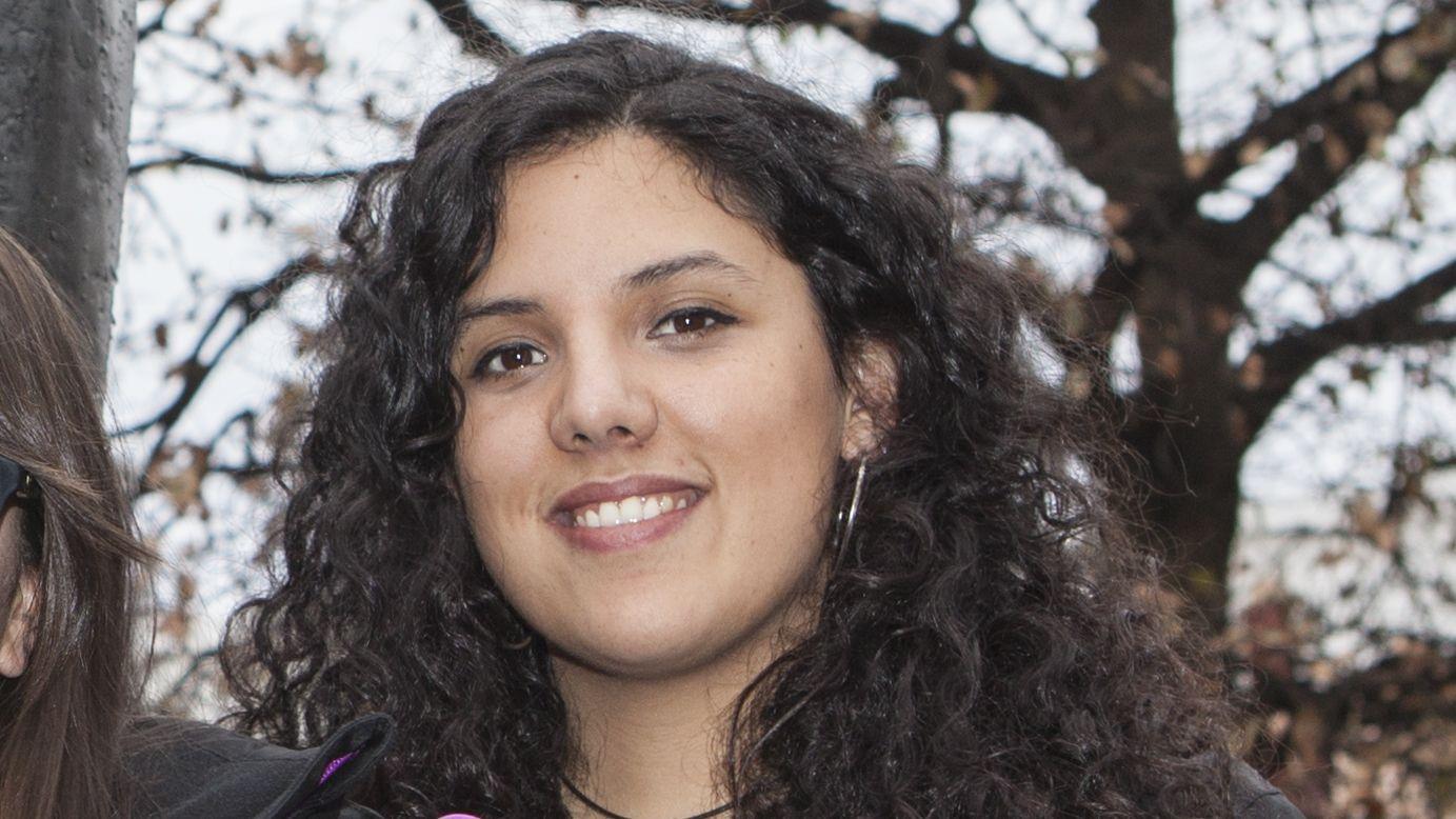 Sara Combarros, miembro de la Comisión Asturiana del 8M