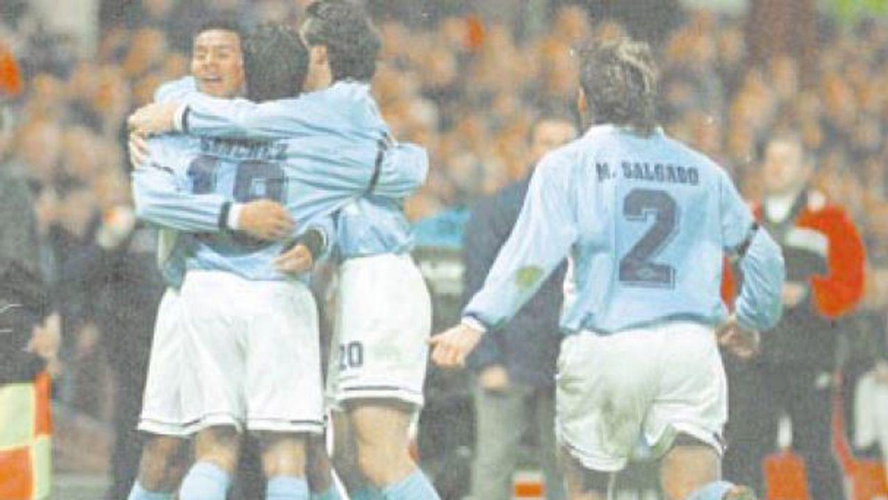 Eliminatoria frente al Aston Villa en 1998