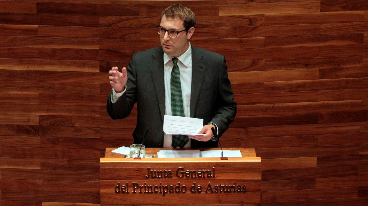 El diputado de Foro Adrián Pumares
