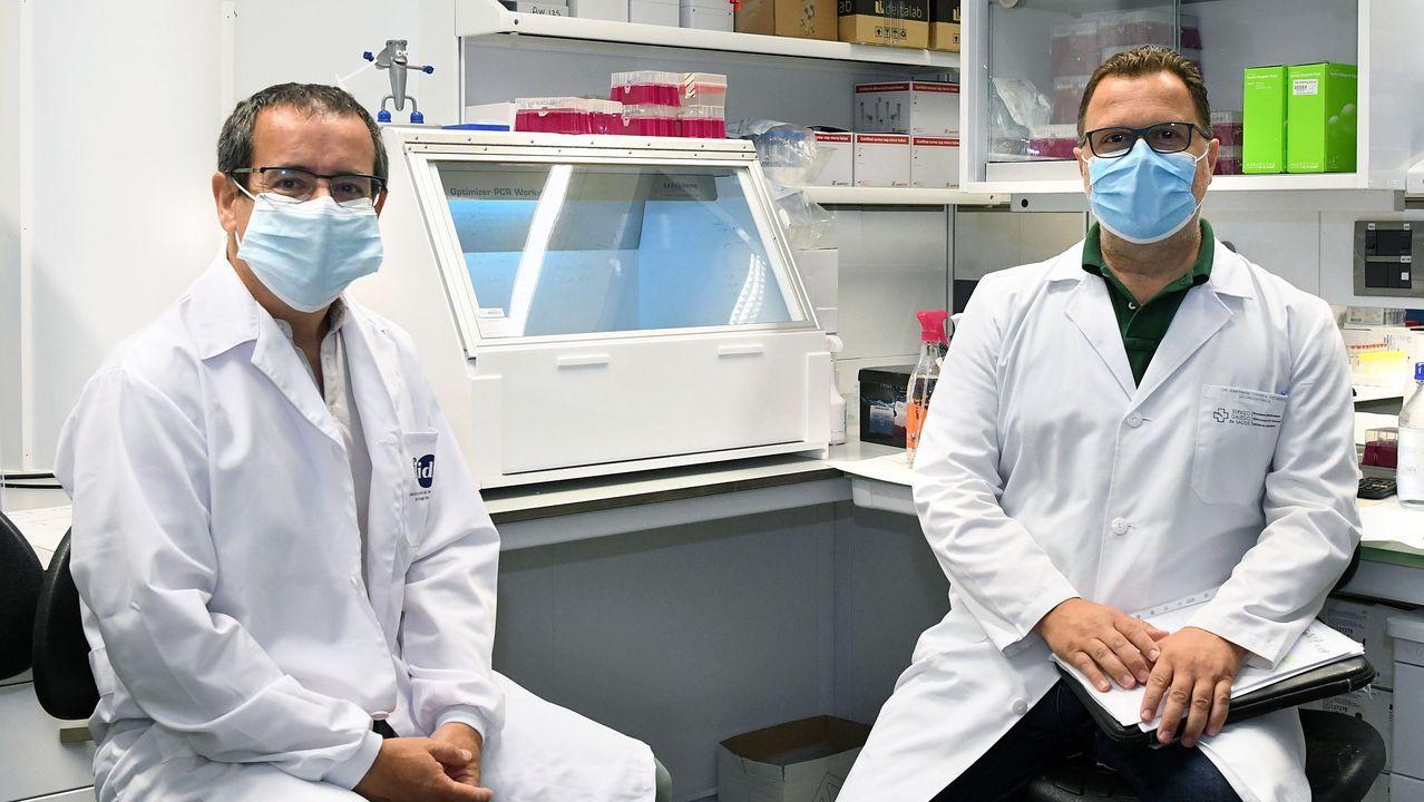 Cienciaen Cambre con elOpen Science.Antonio Salas y Federico Martinón