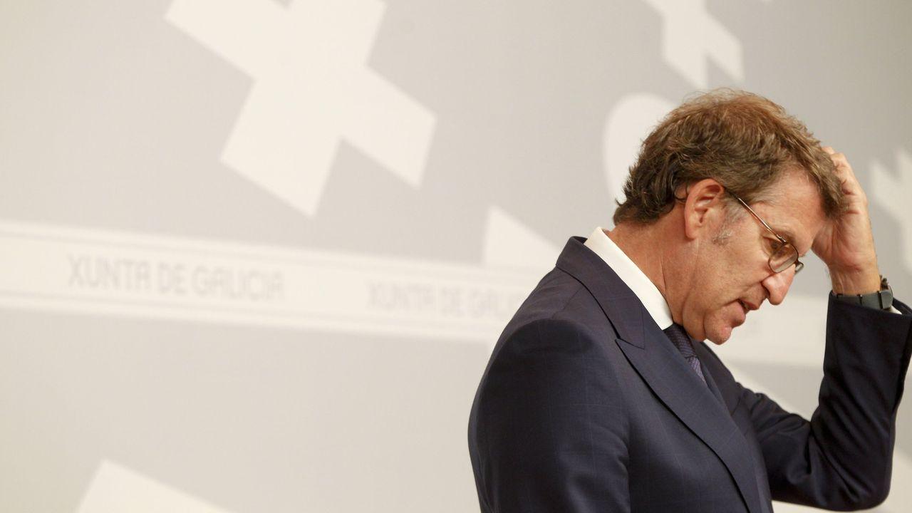 Carteles electorales en la campaña de las elecciones autonómicas del 2016