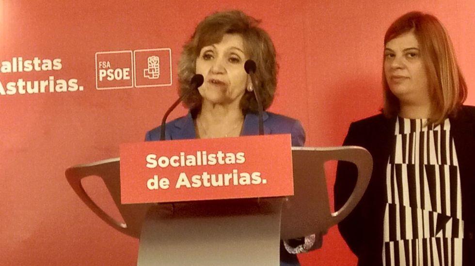 Los candidatos de Asturias votan.Carcedo y Llamedo