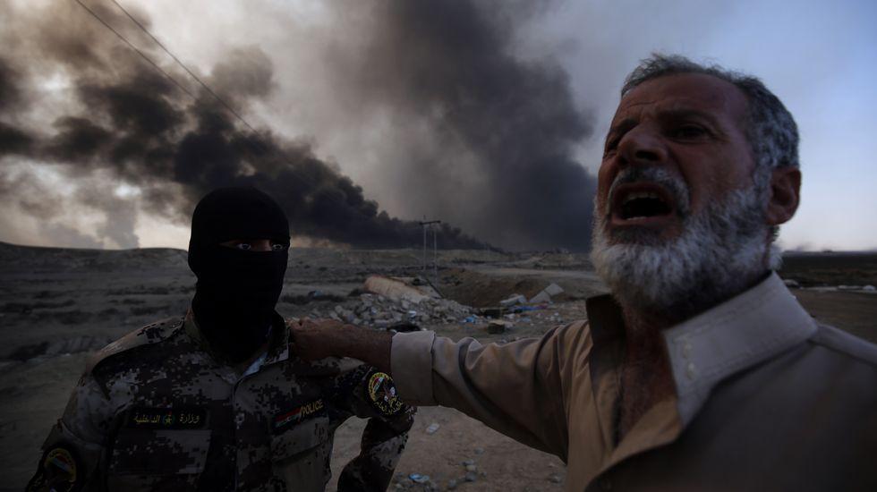Continúa la batalla por Mosul, cada vez más cerca de la ciudad.García-Margallo en Irak