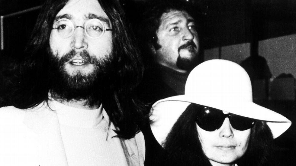 Cynthia y Julian Lennon