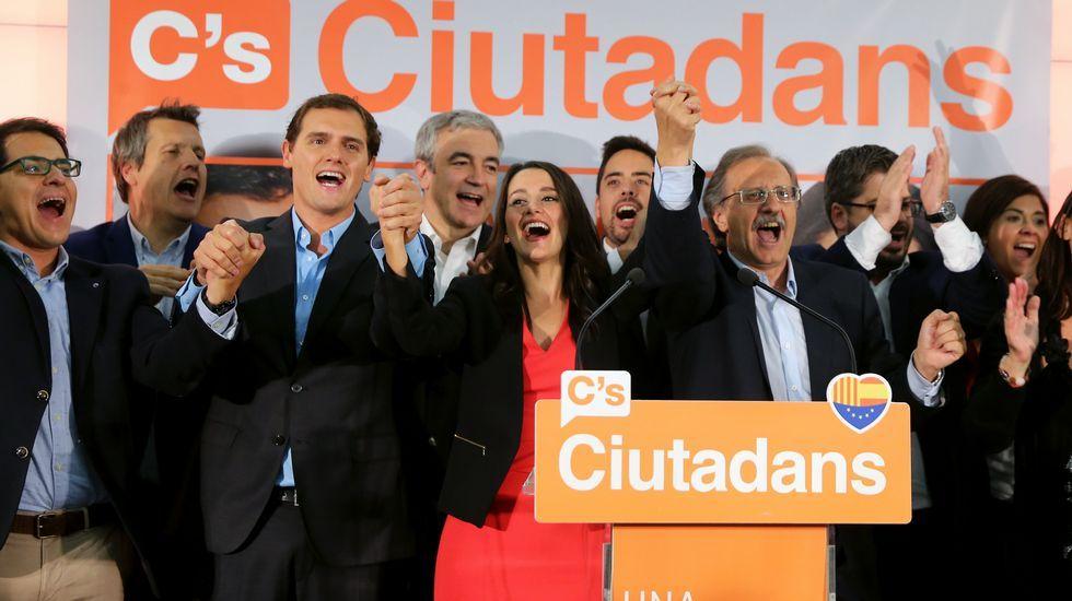 Arrimadas: «Se ha demostrado que la mayoría de catalanes le hemos dado la espalda a Mas»