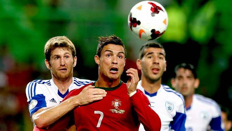 Candidatos al Balón de Oro.Cristiano Ronaldo, con Portugal