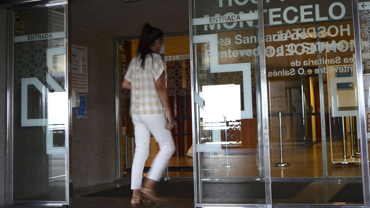 En el Hospital Montecelo, de Pontevedra, hay un paciente de coronavirus ingresado en planta