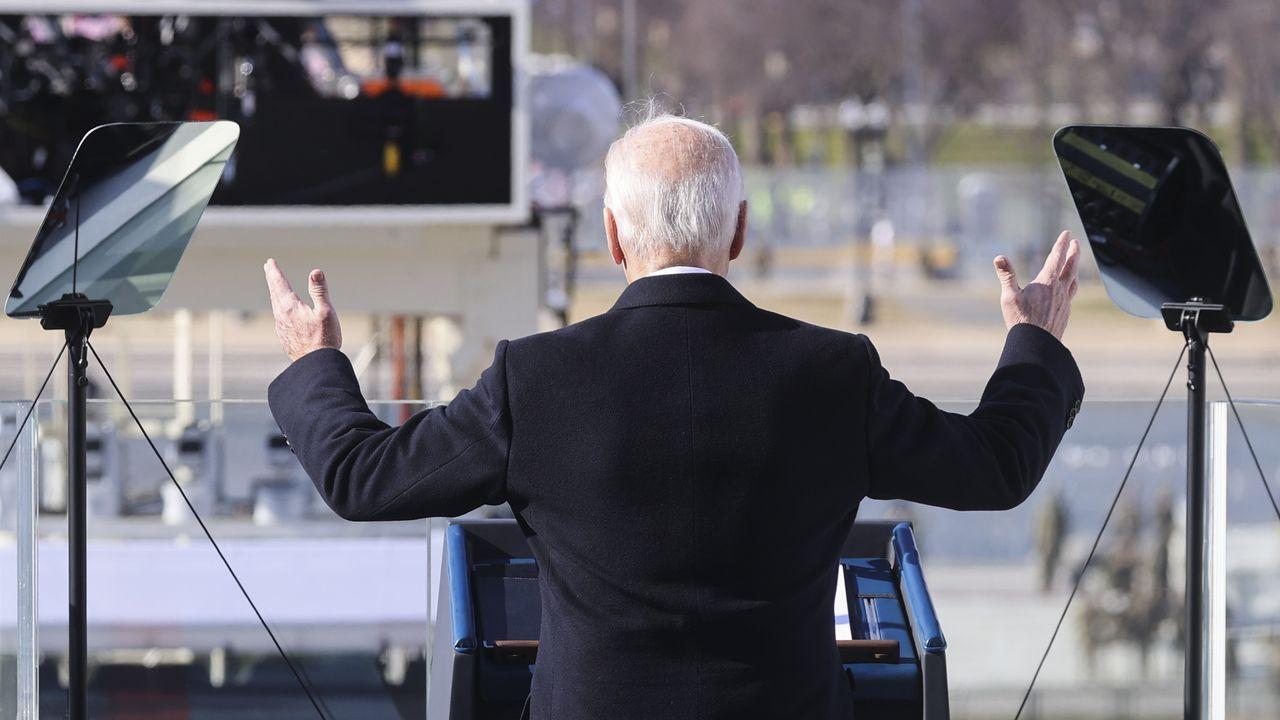 Joe Biden.Justin Trudeau, primer ministro de Canadá