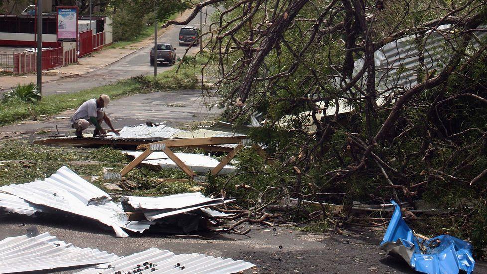 Aún no se sabe cuántos muertos ha causado el ciclón a su paso por Vanuatu.