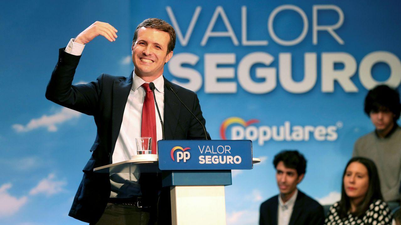 Casado: «Sánchez prefiere manos manchadas de sangre a manos pintadas de blanco».Niños del CEIP Mosteiro-Bembrive en uno de sus habituales talleres de inteligencia emocional