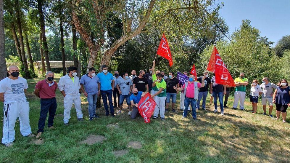 Análisis: así evoluciona la quinta ola de coronavirus en Lugo.En la asamblea participaron la mayoría de los trabajadores de FCC en Monforte, tiene una plantilla formada por 37 personas