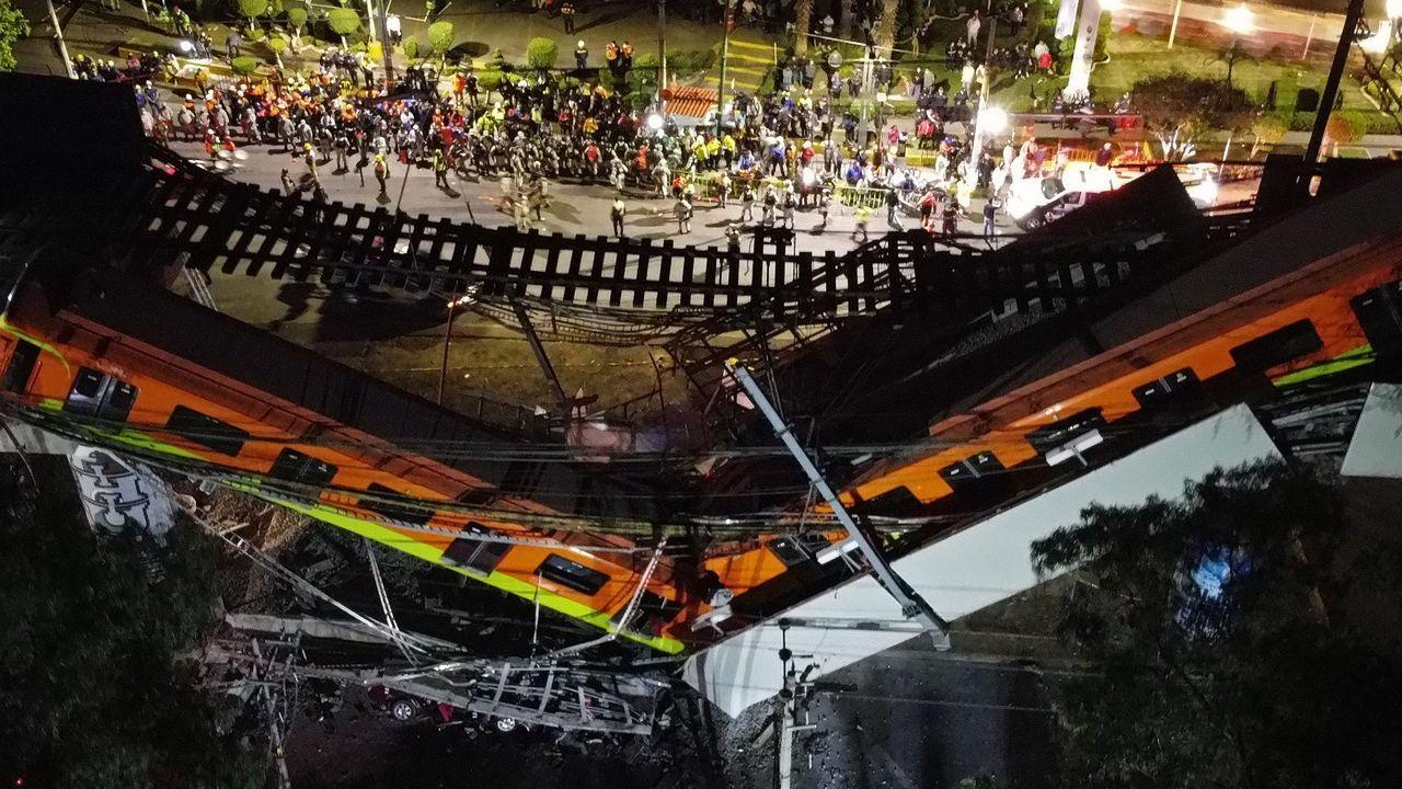 «¡La república no existe, idiota!».Tragedia en el metro de Ciudad de México